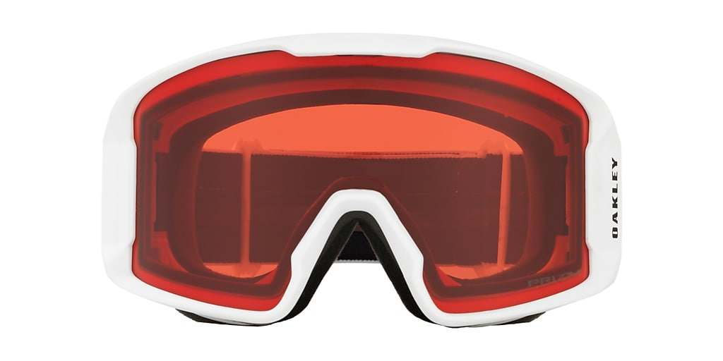 Matte White OO7070 Line Miner™ Snow Goggle Red  00