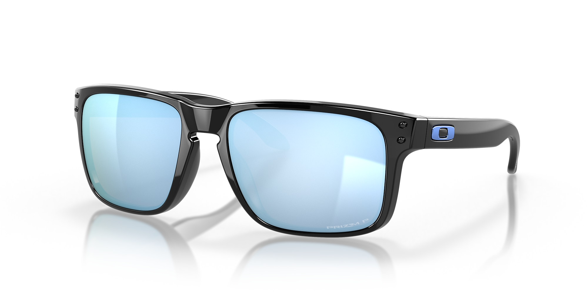 Oakley OO9102 Holbrook™ Black/Blue 					/Polarized image 1