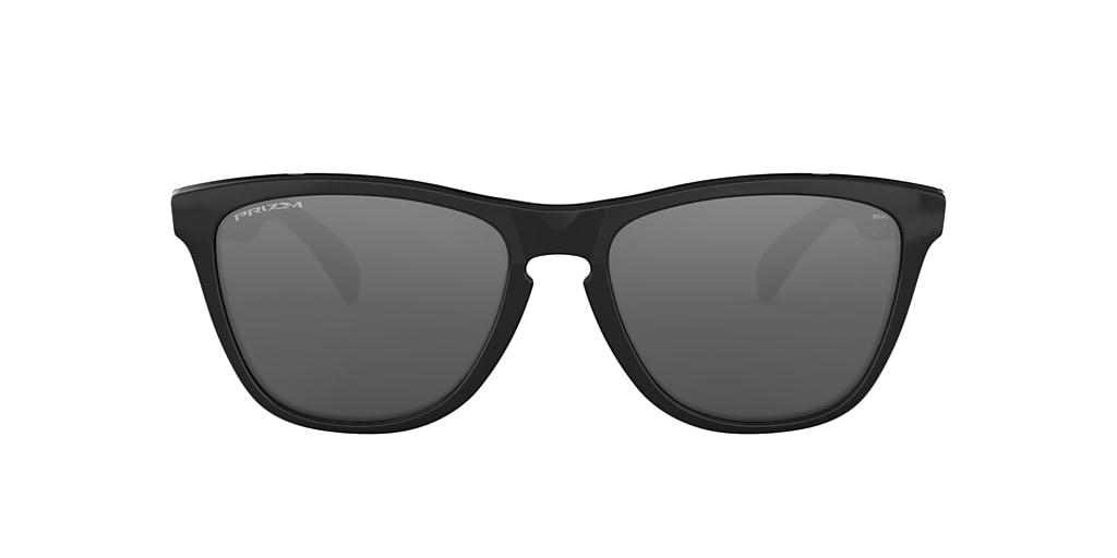 Negro pulido OO9013 Frogskins™ Gris-Negro  55