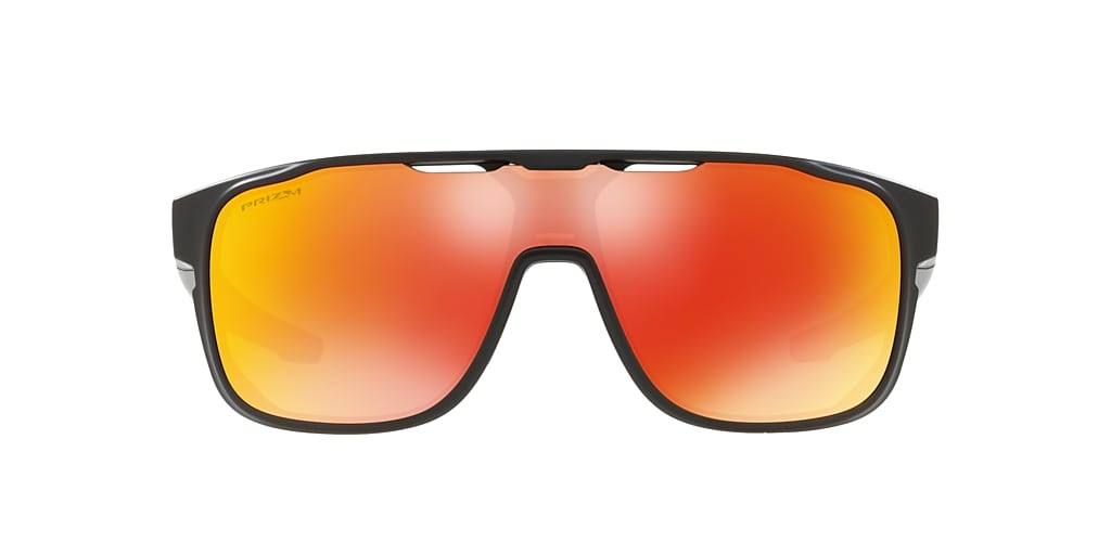 Black OO9387 Crossrange™ Shield Prizmatic Collection Red  01