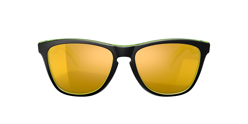 Black OO9013 Frogskins™ Crystalline Collection Gold  FA