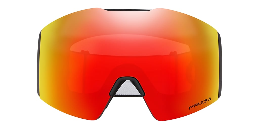 Matte Black OO7099 Fall Line XL Snow Goggle Red