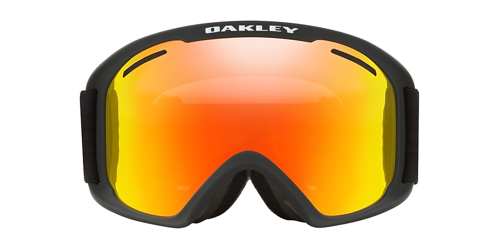 Matte Black OO7112 O-Frame® 2.0 PRO XL Snow Goggle Orange
