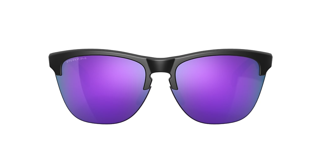 Matte Black OO9374 Frogskins™ Lite Violet