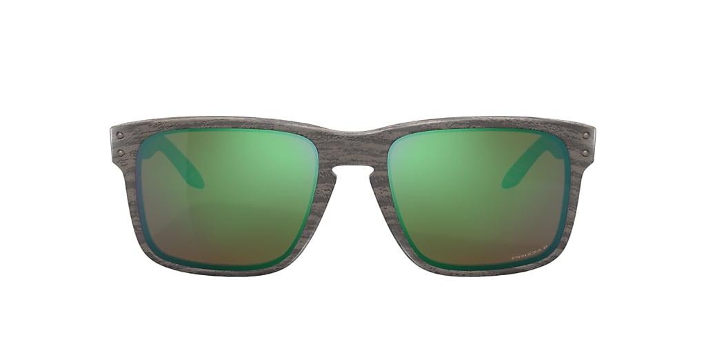 Green OO9102 Holbrook™ Woodgrain Collection Green