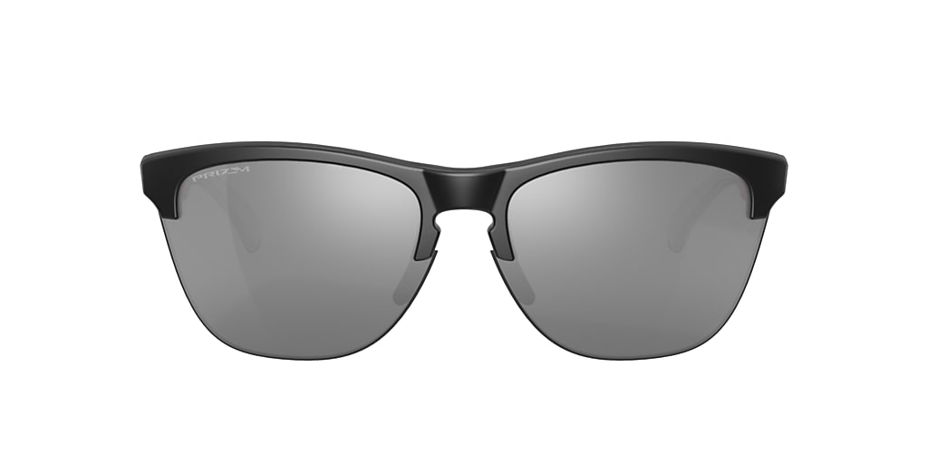 Matte Black OO9374 Frogskins™ Lite Grey-Black