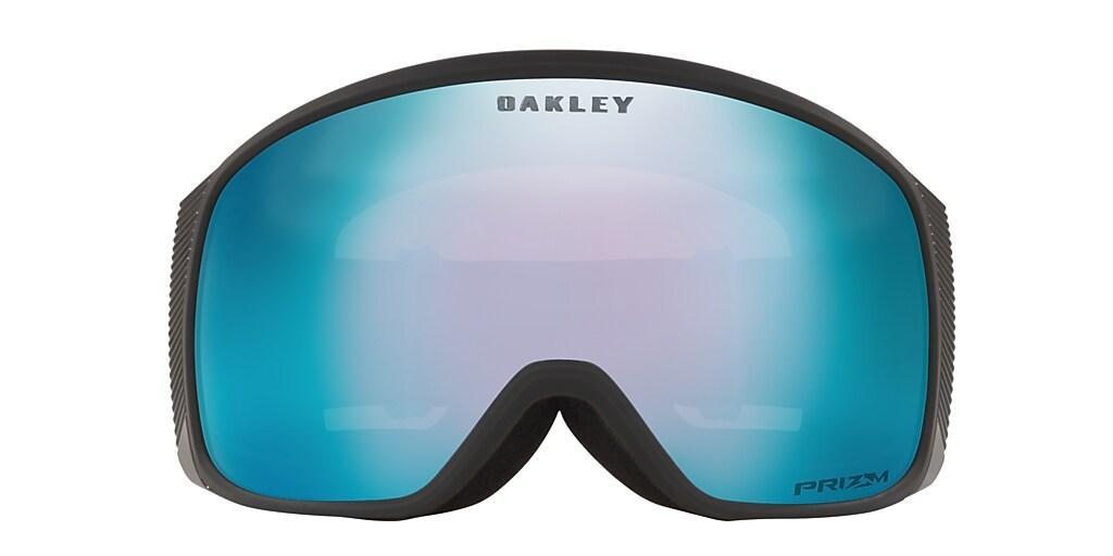 Black OO7105 Flight Tracker XM Snow Goggle Sapphire Iridium