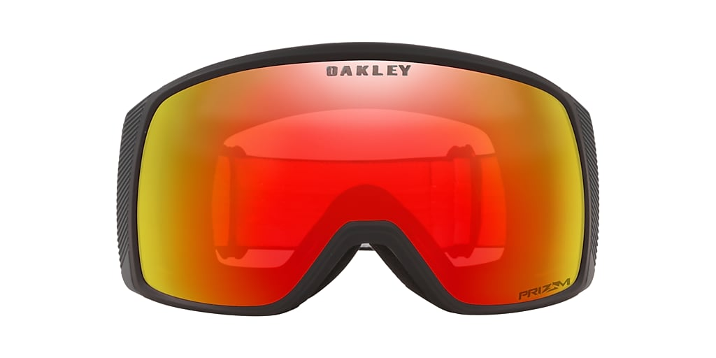 Matte Black OO7106 Flight Tracker XS Snow Goggle Red