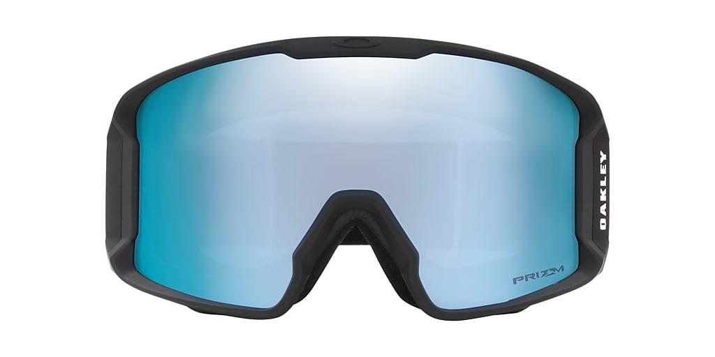 Black OO7070 Line Miner™ Snow Goggle Sapphire Iridium
