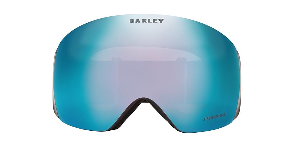 Black OO7050 Flight Deck™ Snow Goggle Sapphire Iridium