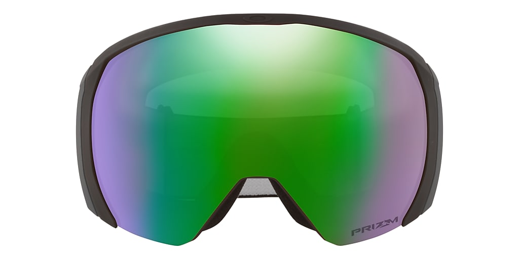 Matte Black OO7110 Flight Path XL Snow Goggle Jade Iridium