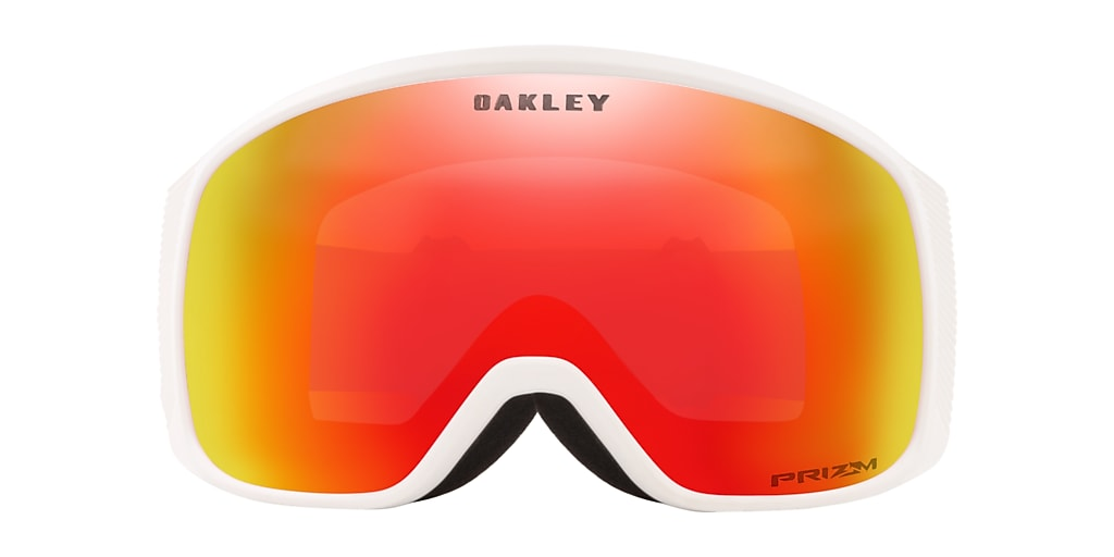 White OO7105 Flight Tracker XM Snow Goggle Red