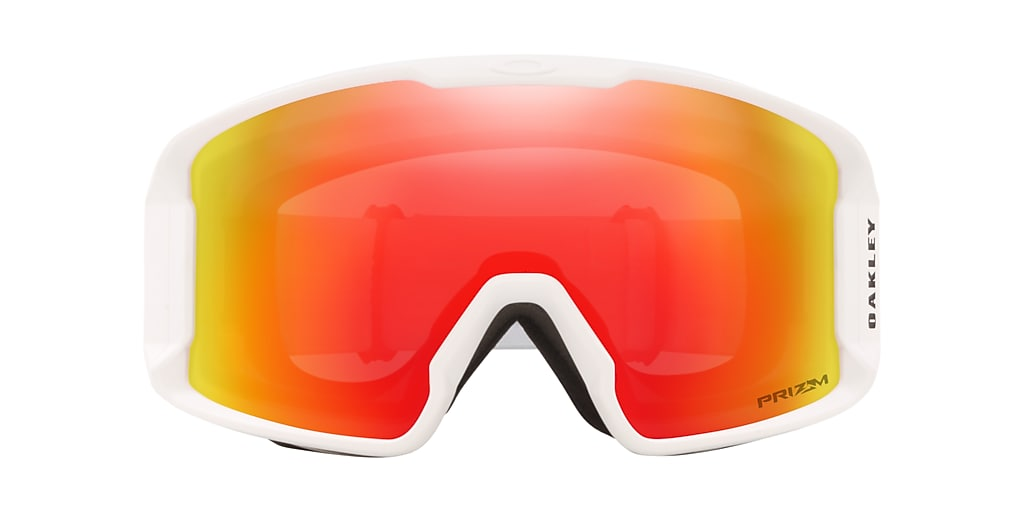 White OO7093 Line Miner™ XM Snow Goggle Red