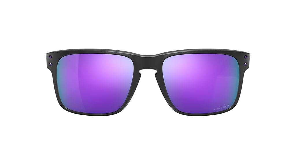 Matte Black OO9102 Holbrook™ Violet  55