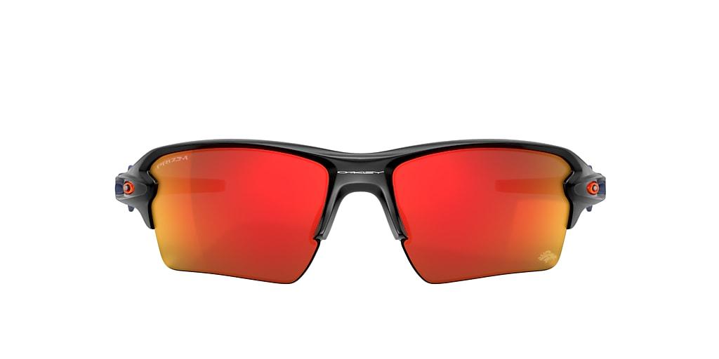 Matte Black Denver Broncos Flak® 2.0 XL Red
