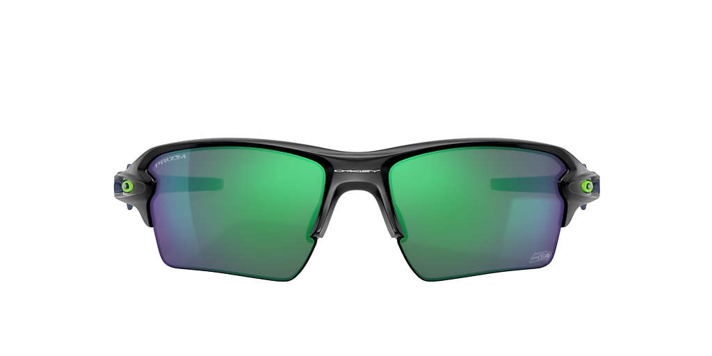Matte Black Seattle Seahawks Flak® 2.0 XL Green