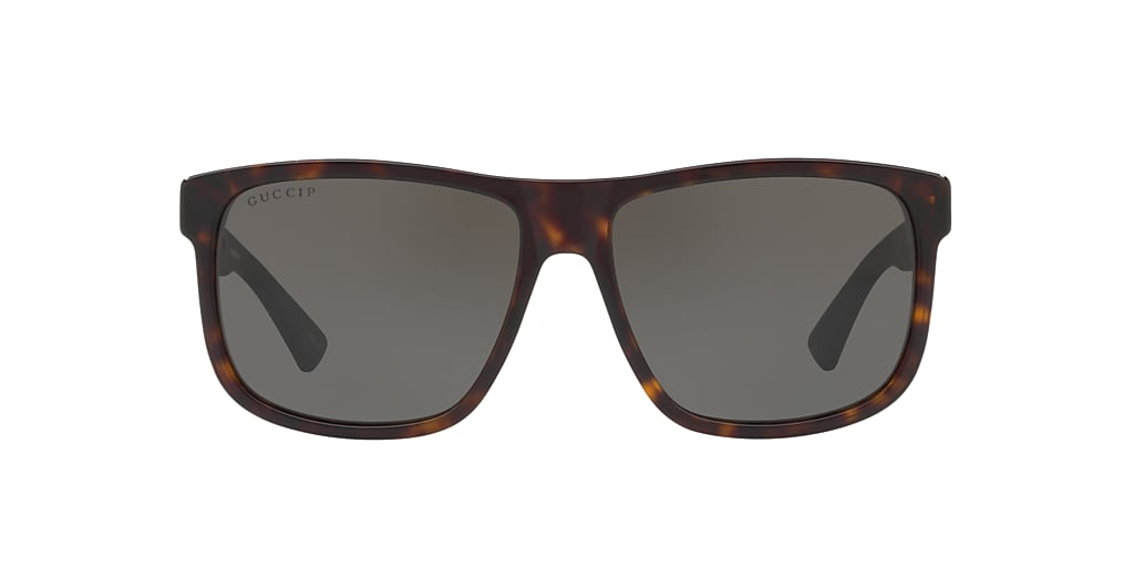 Havane GG0010S Gris-Noir  58