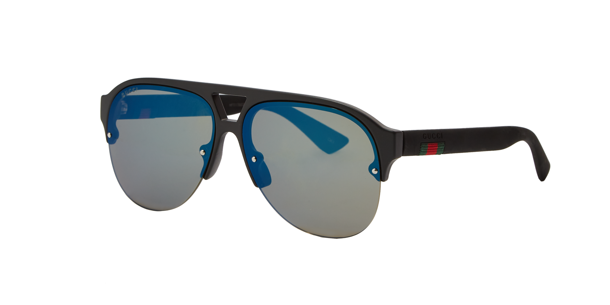 Gucci Man  GG0170S -  Frame color  Black, Lens color  Blue, Size 59-13 145