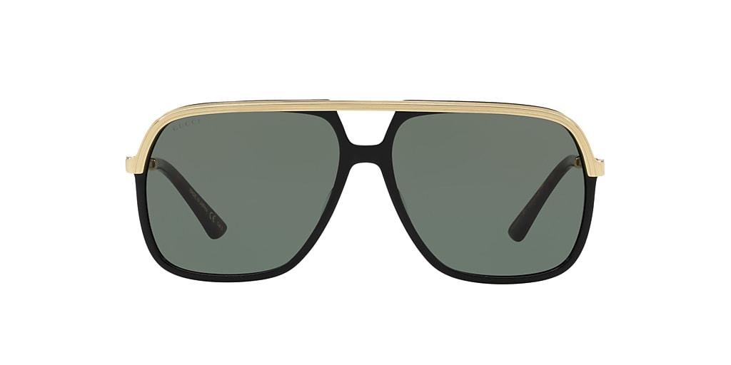 Black GG0200S Green  57