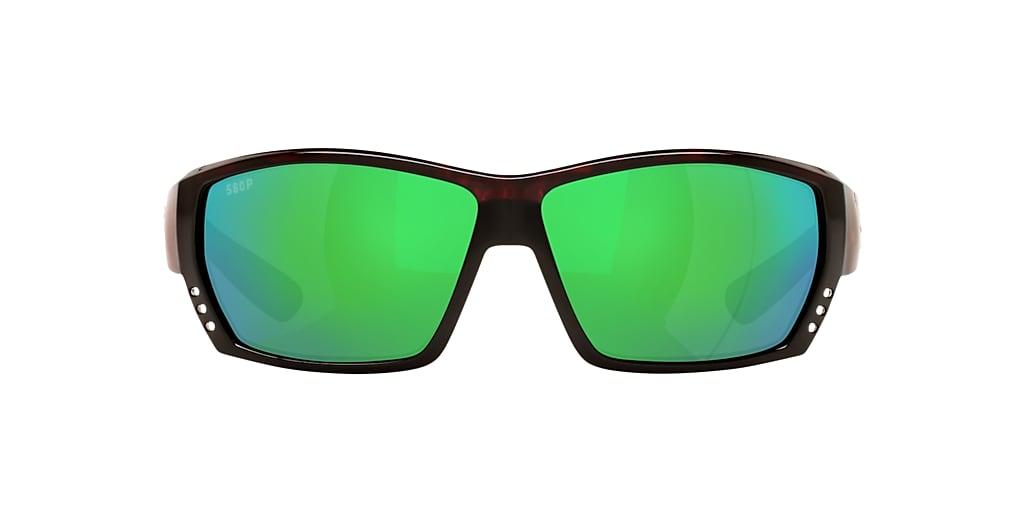 Tortoise 6S000164 CDM TUNA ALLEY Green Mirror  62